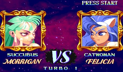 Darkstalkers:The Night Warriors