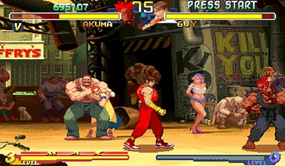 Street Fighter Alpha 2