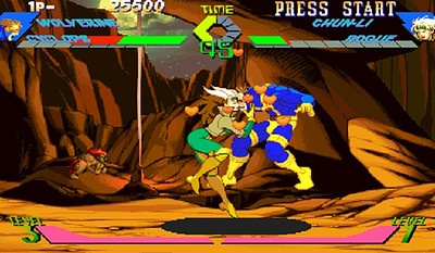 X-Men Vs Street Fighter