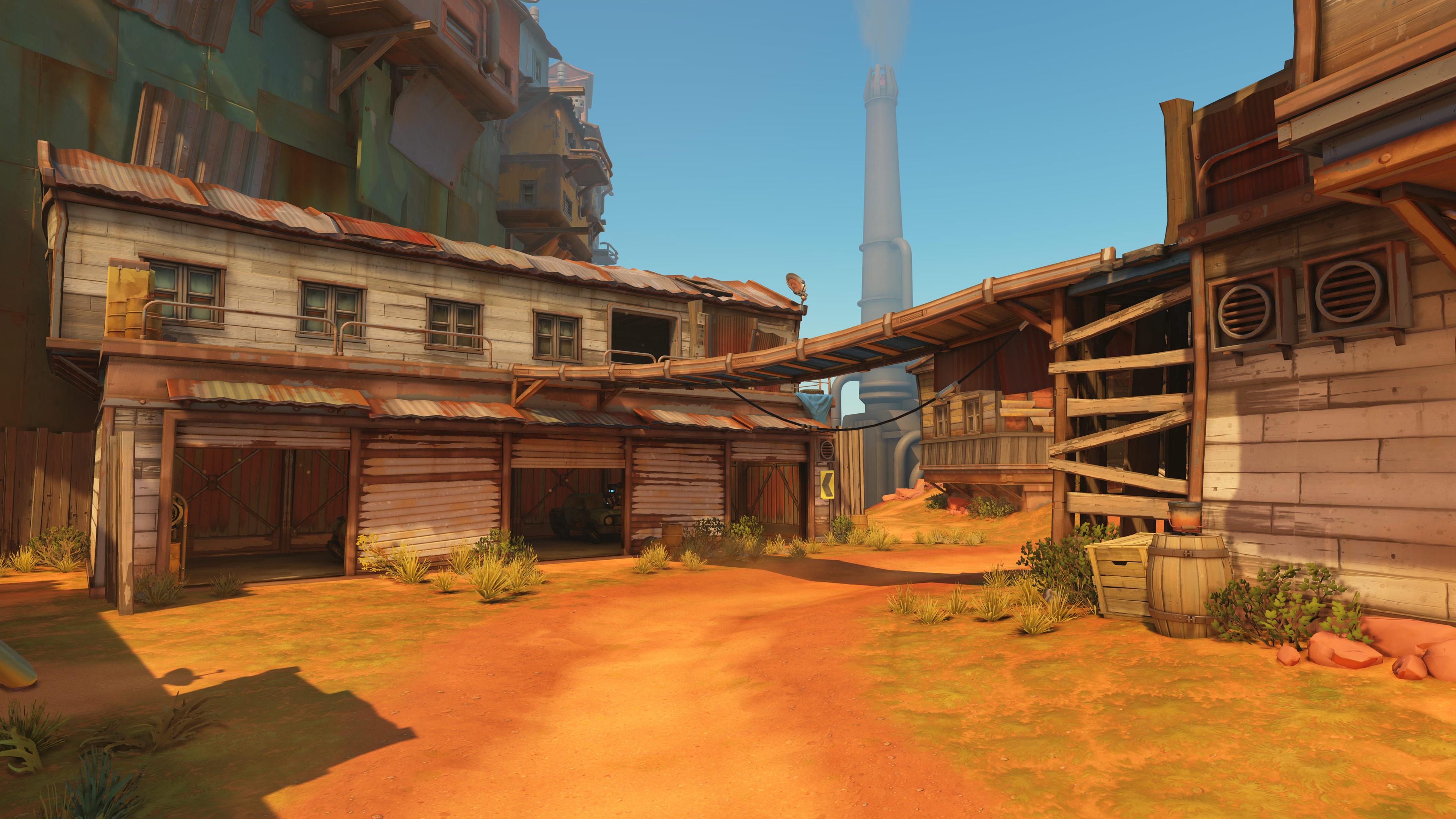 Svelata Junkertown, nuova mappa di Overwatch | GamerClick