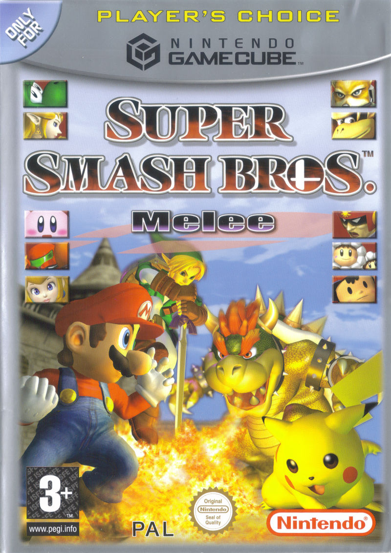 super smash bros melee gamecube case