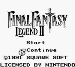 The Final Fantasy Legend II