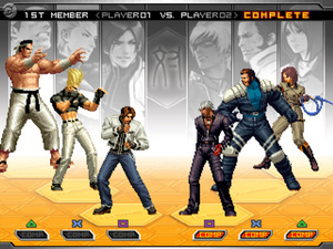 The King of Fighters 2002: Unlimited Match