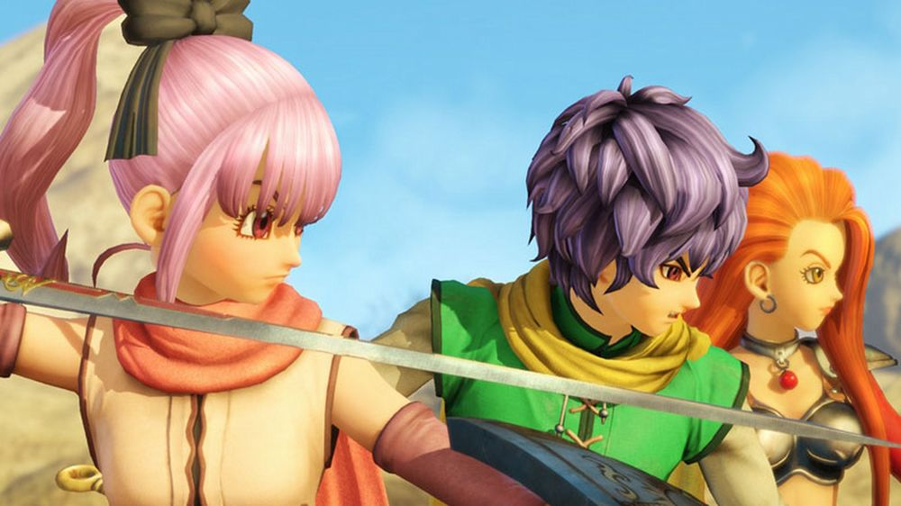 Dragon Quest Heroes 2: un video per Baldini, Alena, Kiryl & Torneko