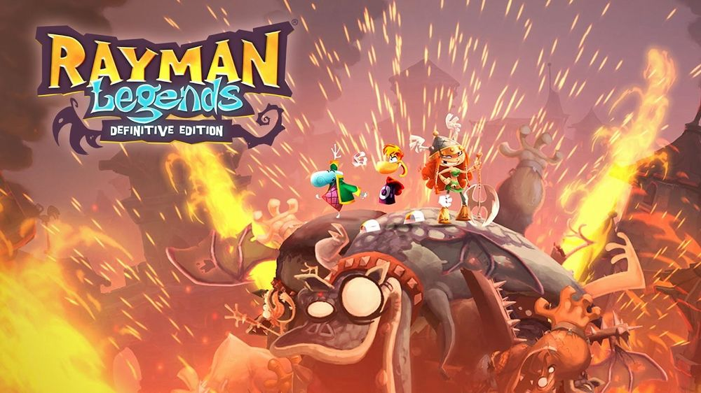 Rayman Legends: Definitive Edition in arrivo su Switch a settembre