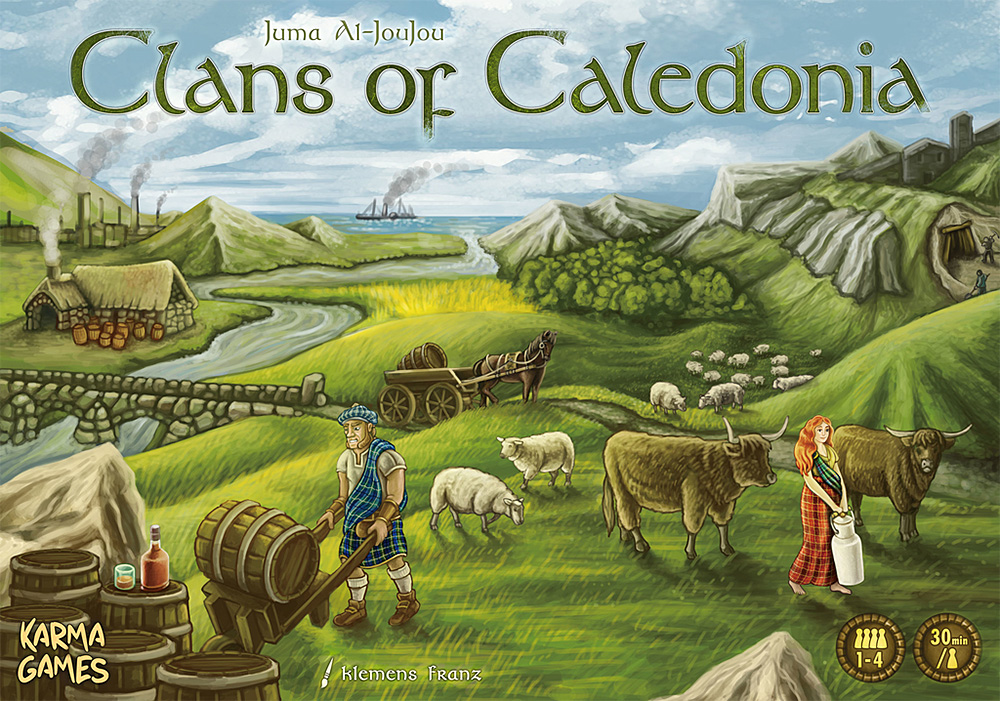 Clans of Caledonia 01
