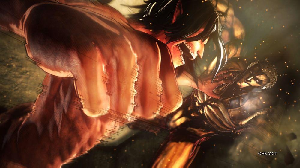 Koei Tecmo annuncia Attack on Titan 2