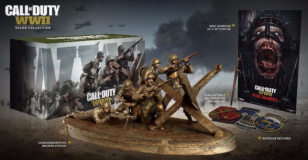 Call of Duty WWII, svelata la Valor Collection Edition