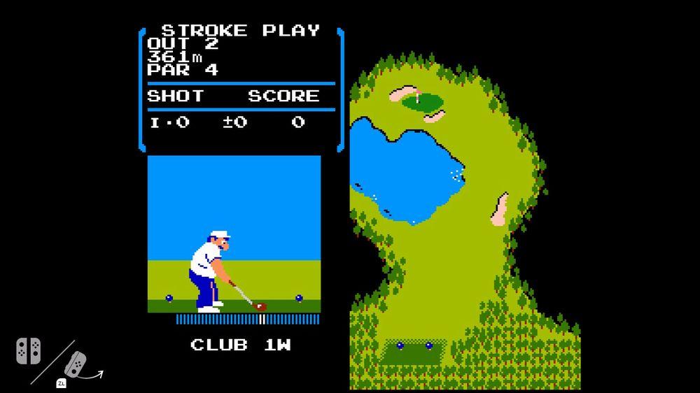 Switch: NES Golf è un omaggio a Satoru Iwata, ecco come attivarlo