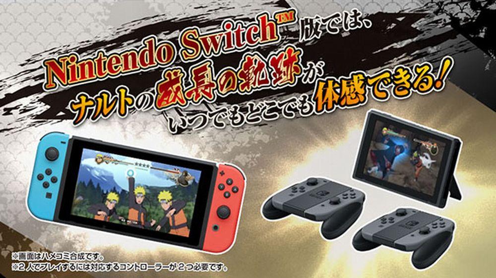 Dettagli tecnici per Naruto Shippuden: Ultimate Ninja Storm Trilogy su Switch