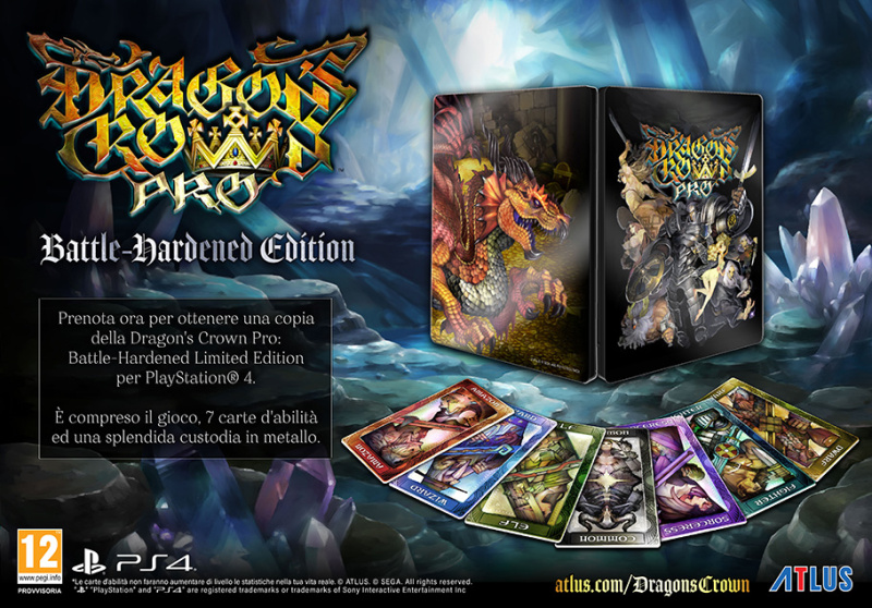 Dragon's Crown Pro: svelata la data d'uscita dell'action RPG di Atlus