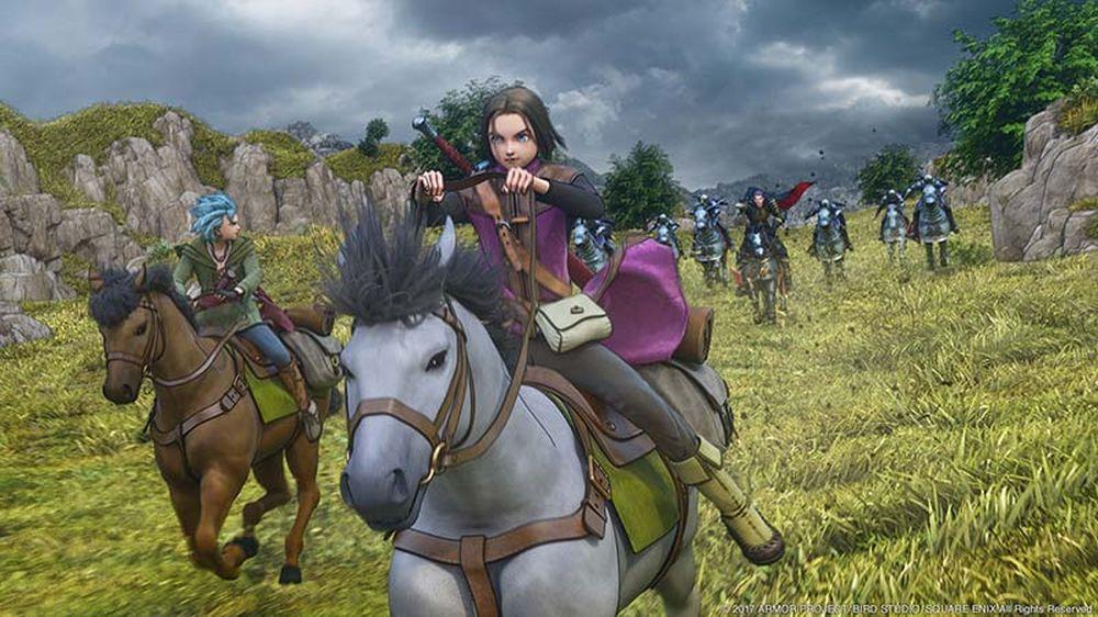 Dragon Quest XI per Switch subisce rallentamenti a causa dell'Unreal Engine