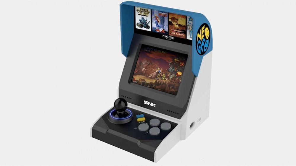 Spuntano i primi dettagli di Neo Geo Mini