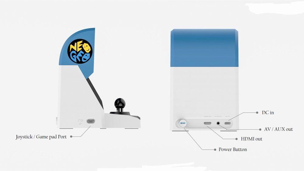 Il nuovo Neo Geo Mini è un cabinato in miniatura