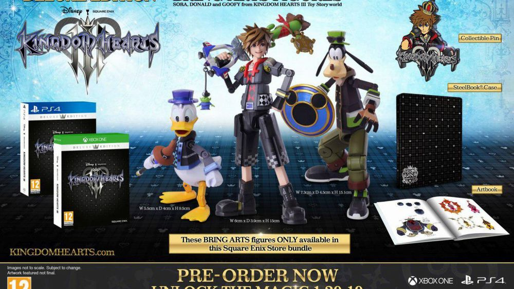 Kingdom Hearts III, svelate le due edizioni.jpg