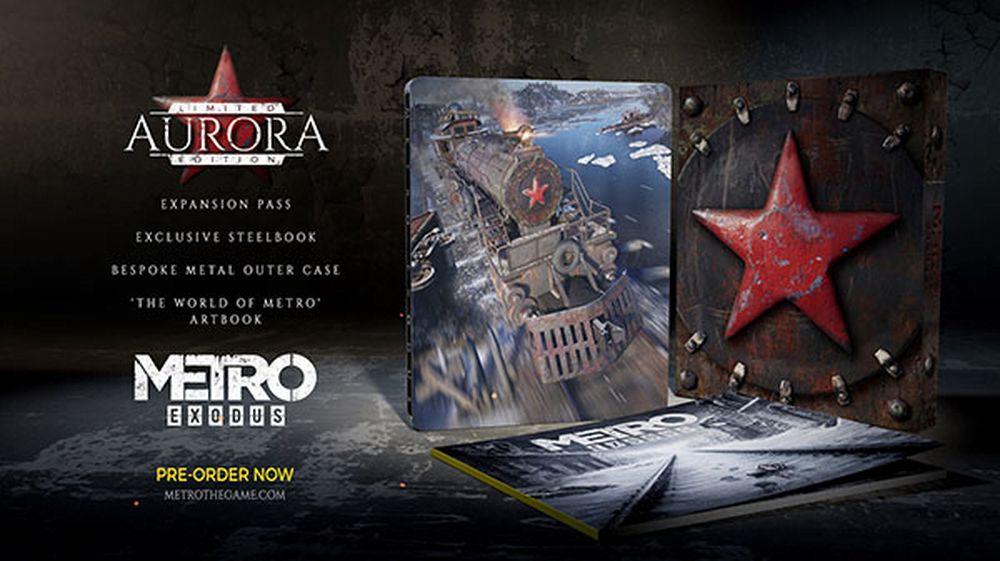 Metro Exodus: annunciata l'Aurora Limited Edition, disponibile il pre-order