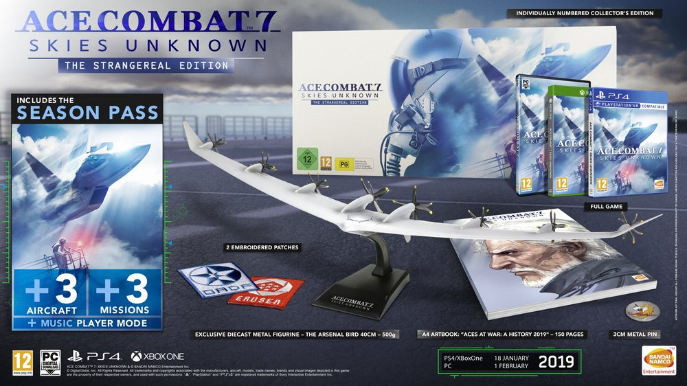 Svelata la Collector's Edition di Ace Combat 7 Skies Unknown.jpg