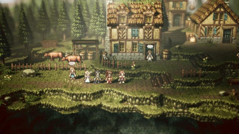 Octopath Traveler arriva su PC