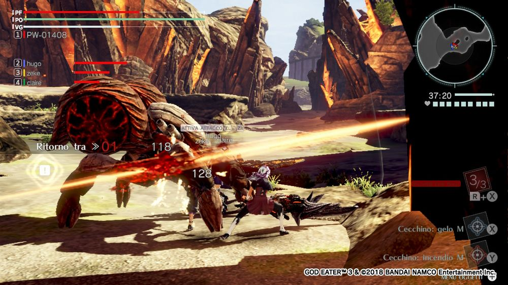 God Eater 3 recensione Nintendo Switch