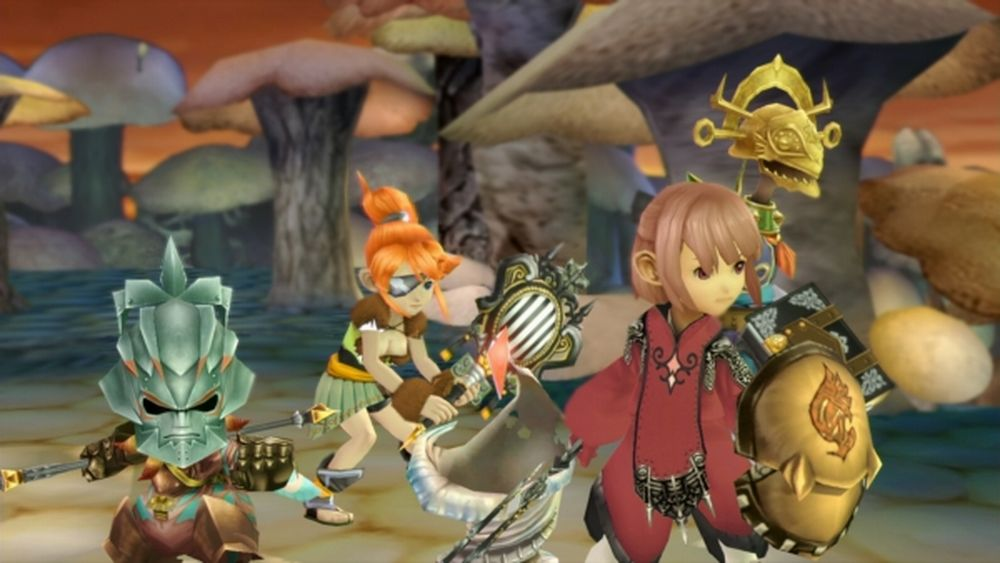 FF crystal chronicles ps4 gameplay