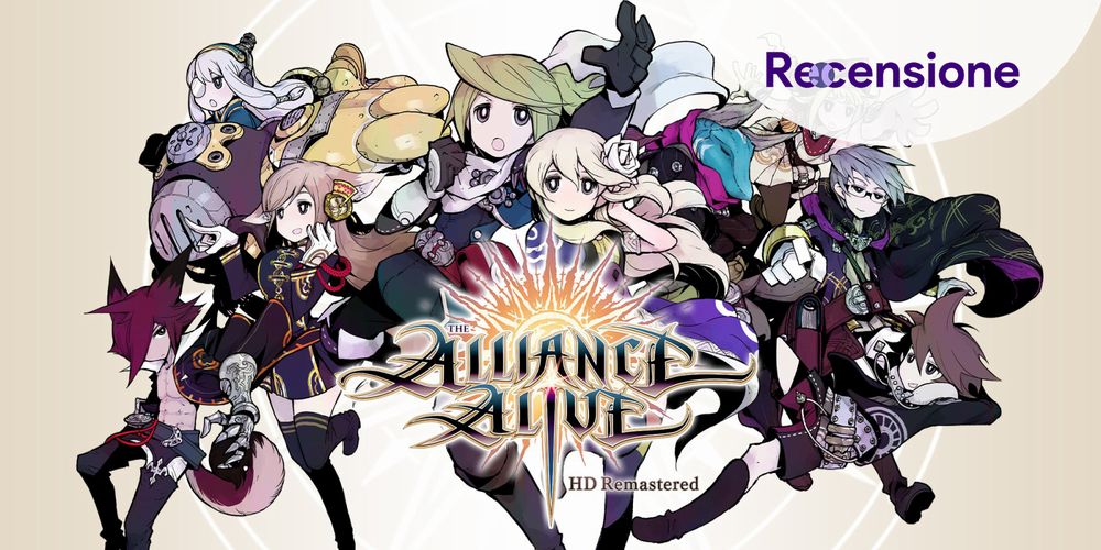 The Alliance Alive ps4 recensione