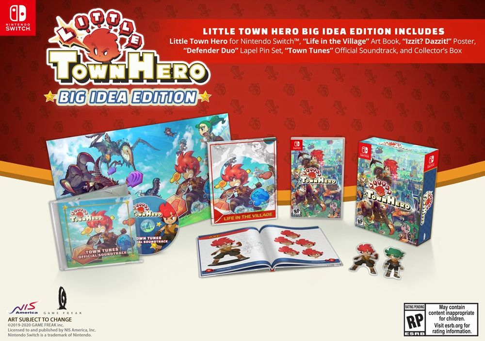 Little Town Hero retail NSW e PS4