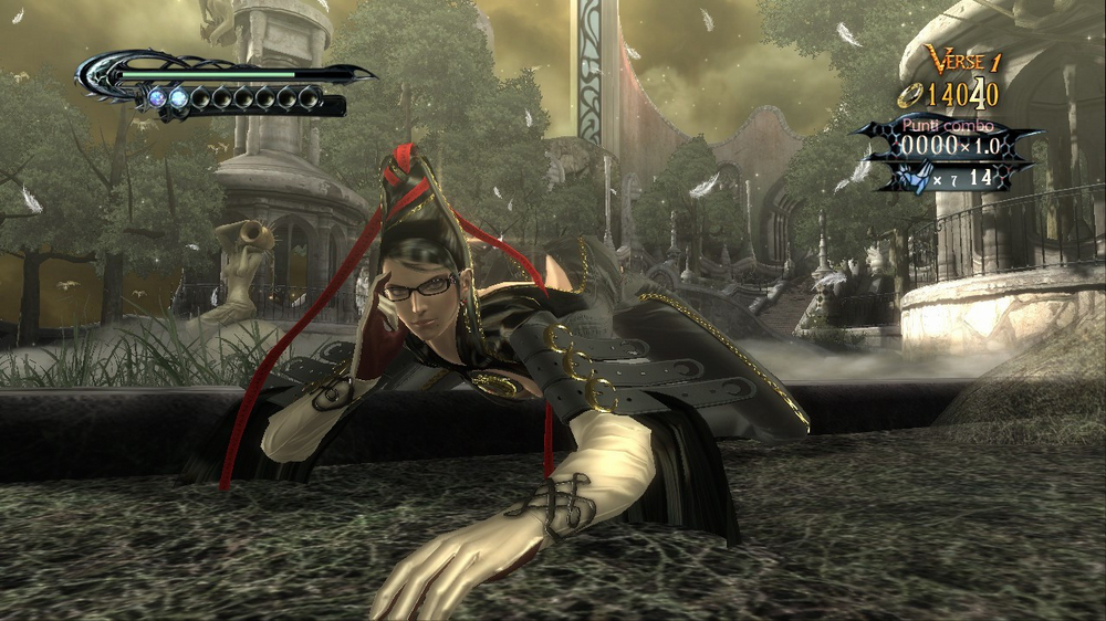 Bayonetta finisher