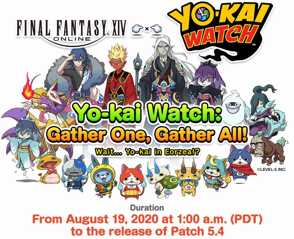 evento yokai watch su ff14