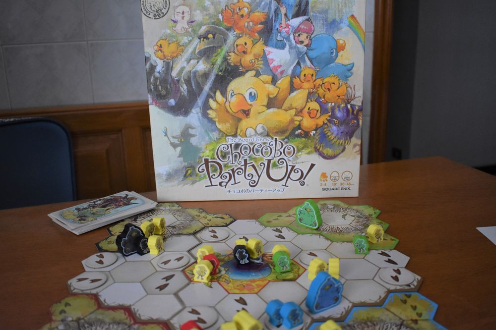 Recensione Chocobo Party Up
