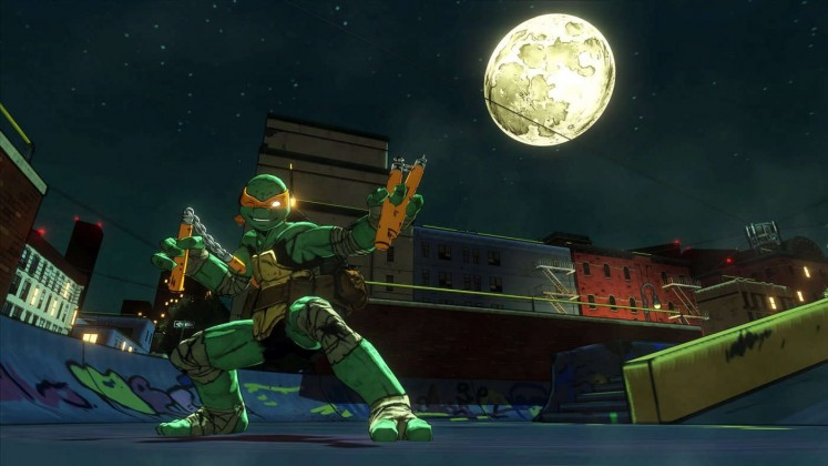 Le Teenage Mutant Ninja Turtles di PlatinumGames si mostrano al PAX