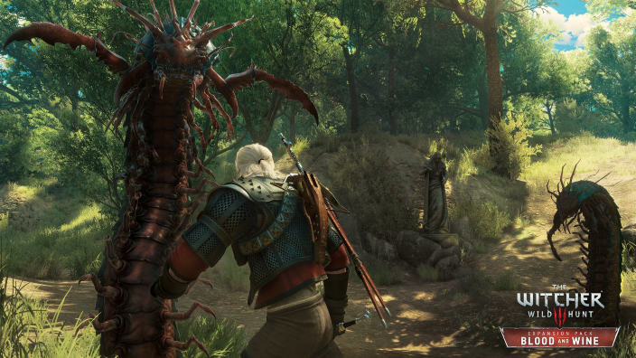 Un trailer di lancio per The Witcher 3: Blood and Wine