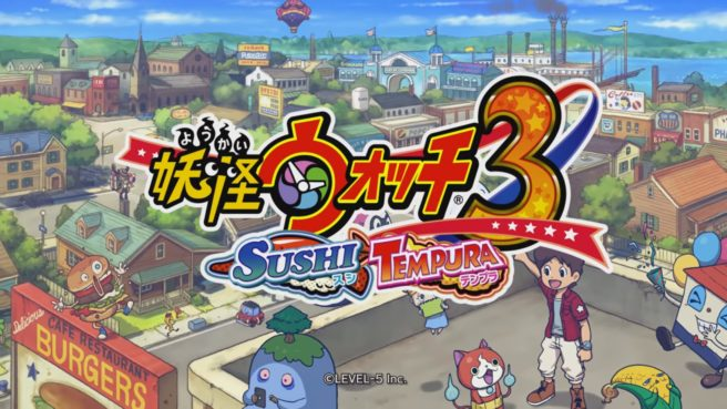 Due nuovi Spot TV per Yo-Kai Watch 3