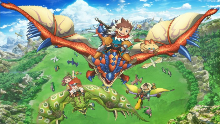 Monster Hunter Stories RIDE ON, anime atteso per il prossimo ottobre