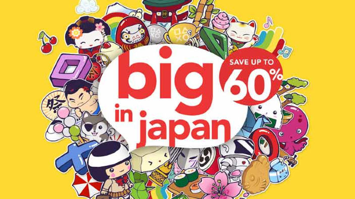 Iniziano i nuovi saldi del PlayStation Store: Big in Japan