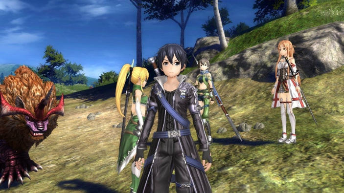 Sword Art Online: Hollow Realization si mette in mostra col suo opening movie