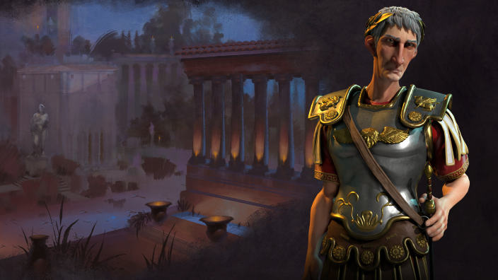 Traiano è il leader di Roma in Civilization VI