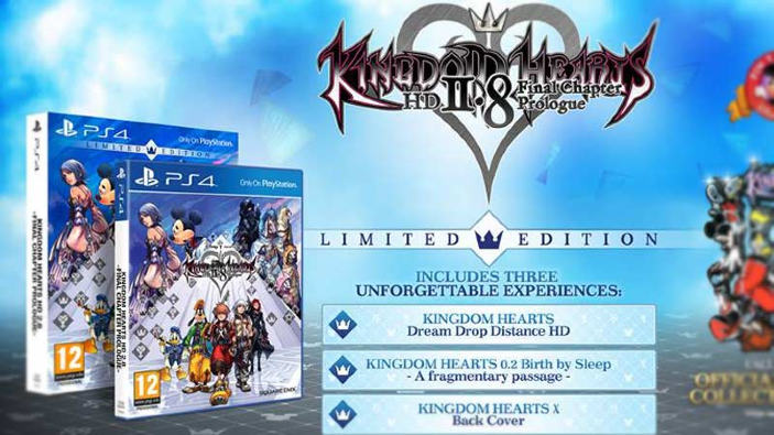 Kingdom Hearts HD 2.8 - Svelata la Limited Edition