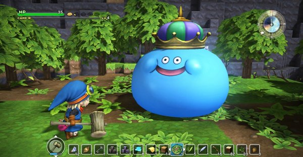 Trailer di lancio per Dragon Quest Builders