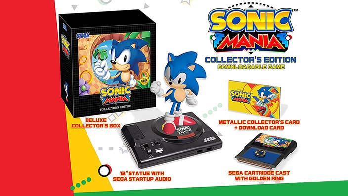 La Collector's Edition di Sonic Mania confermata in Europa