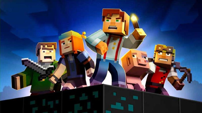 Minecraft: Story Mode - The Complete Adventure si mostra nel trailer di lancio
