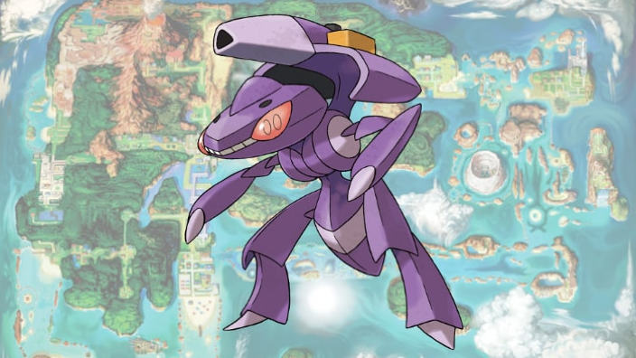 Genesect è ora disponibile per i giochi Pokémon su 3DS