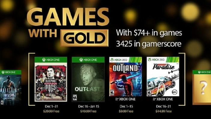 Sleeping Dogs e Burnout tra i Games with Gold di dicembre