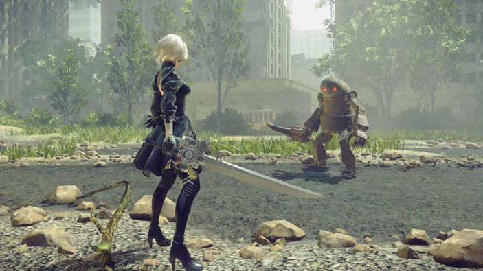NieR: Automata e la collaborazione con Final Fantasy XV in trailer