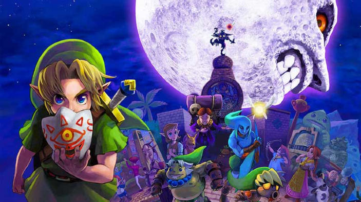 The Legend of Zelda: Majora's Mask arriva su Wii U