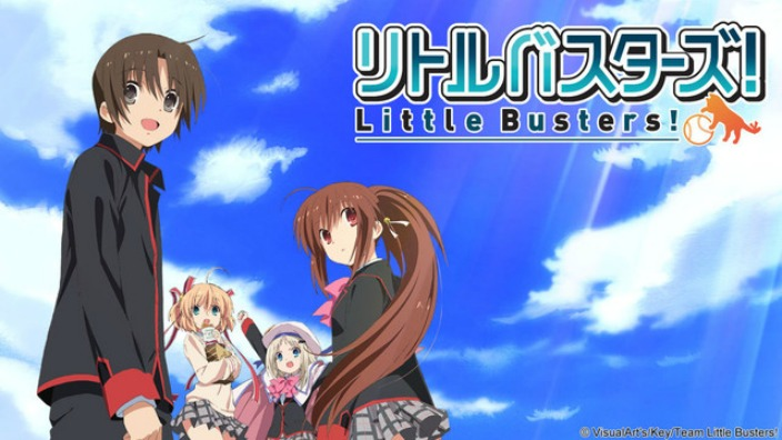 Anime per Kud Wafters lo spinoff di Little Busters!