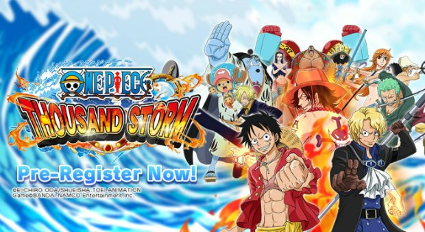 One Piece Thousand Storm in arivo sui vostri smartphone
