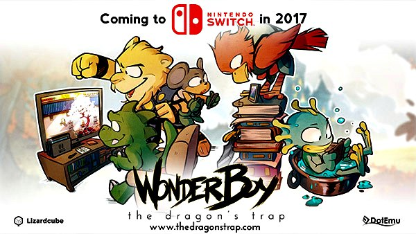 Wonder Boy The Dragon's Trap approderà su Nintendo Switch