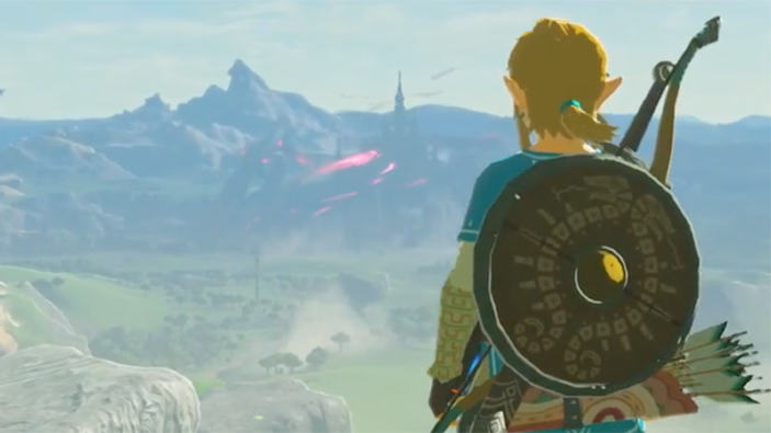 The Legend of Zelda: Breath of the Wild in un trailer decisamente bizzarro