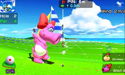 Il golf di Mario Sports Superstars si mostra in trailer