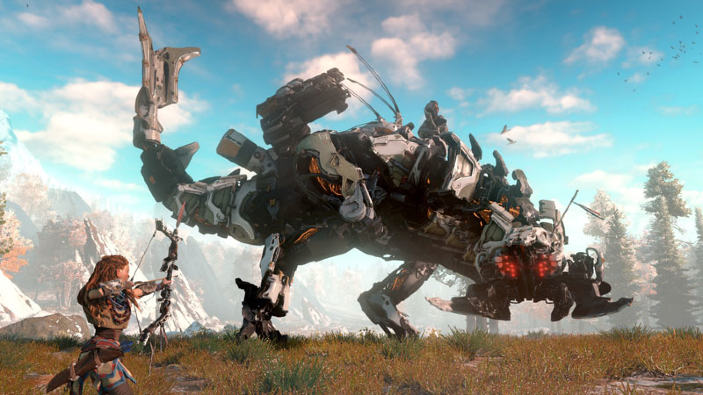 Horizon: Zero Dawn - I nemici di Aloy illustrati in video